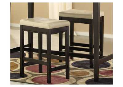 Kimonte Ivory Upholstered Barstool (Set of 2),Direct To Consumer Express