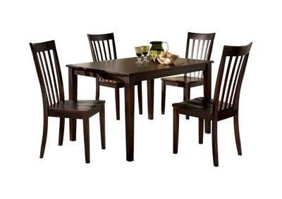 Image for Hyland Rectangular Dining Table w/ 4 Chairs