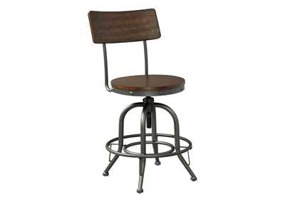 Odium Counter Height Bar Stool (Set of 2)