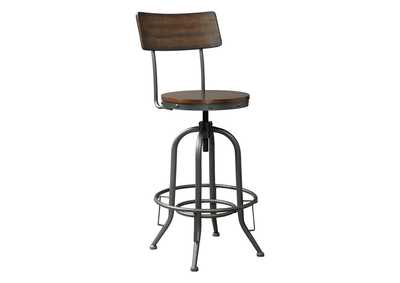Image for Odium Pub Height Bar Stool (Set of 2)