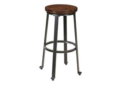 Challiman Rustic Brown Tall Stool (Set of 2)