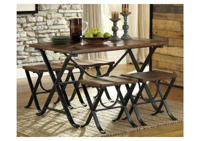Freimore Dining Room Table and Stools (Set of 5),Direct To Consumer Express