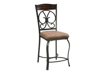 Image for Glambrey Upholstered Barstool (Set of 4)