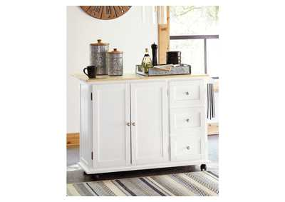 Image for Withurst Brown Kitchen Cart