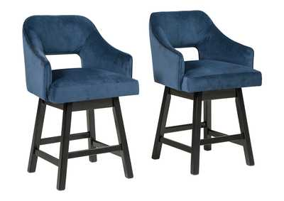 Image for Tallenger Counter Height Bar Stool (Set of 2)
