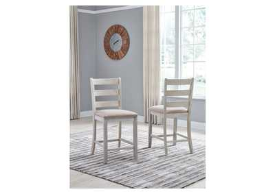 Skempton Rectangular Counter Dining Set w/2 Chairs,Signature Design By Ashley