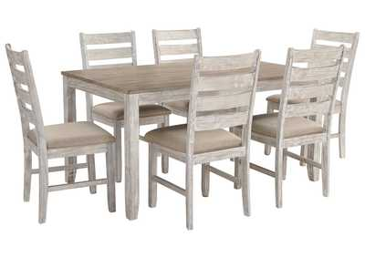 Image for Skempton 7 Piece Dining Table Set