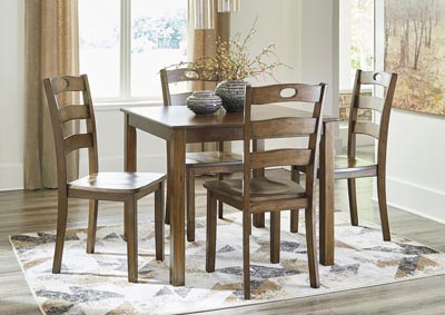 Hazelteen Dining Room Table and Chairs (Set of 5),Signature Design By Ashley