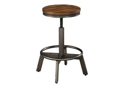 Image for Torjin Adjustable Height Bar Stool (Set of 2)
