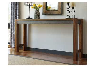 Torjin Two-tone Brown Long Counter Table,Direct To Consumer Express