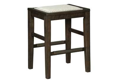 Image for Hallishaw Dark Brown Bar Stool
