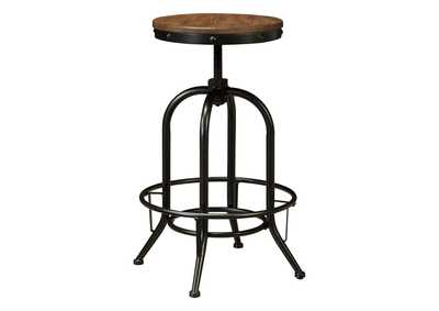 Image for Pinnadel Bar Height Bar Stool (Set of 2)
