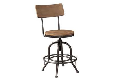 Image for Pinnadel Counter Height Bar Stool (Set of 2)