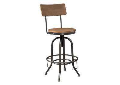 Image for Pinnadel Pub Height Bar Stool (Set of 2)