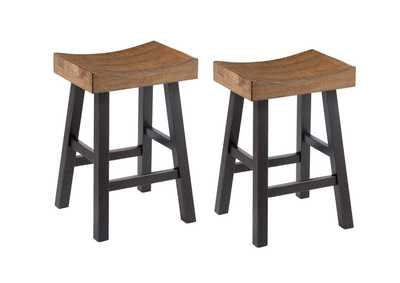Glosco Counter Height Bar Stool (Set of 2)