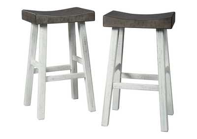 Image for Glosco Pub Height Bar Stool (Set of 2)