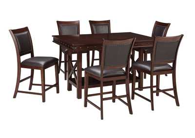 Collenburg Dark Brown Rectangular Dining Room Counter Extension Table,Signature Design By Ashley