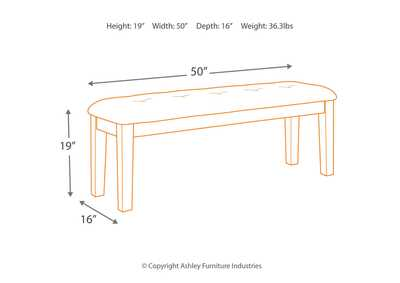 Flaybern Dining Room Bench,Benchcraft