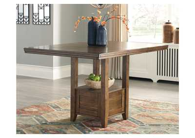 Flaybern Counter Height Dining Room Table,Benchcraft