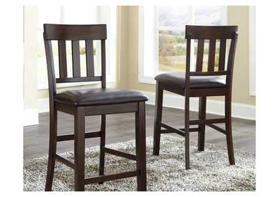 Haddigan Counter Height Bar Stool (Set of 2),Signature Design By Ashley