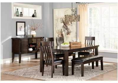 Haddigan Brown Dining Room Chair (Set of 2),Direct To Consumer Express
