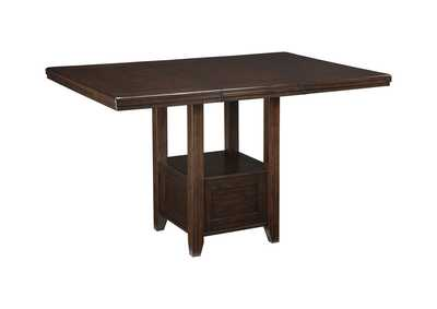 Haddigan Dark Brown RECT DRM Counter Table,Signature Design By Ashley