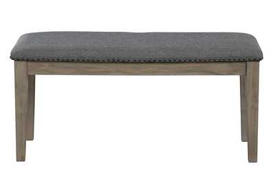 Image for Aldwin Gray Upholstered Bench