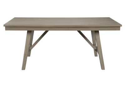 Image for Aldwin Gray Rectangular Dining Room Table