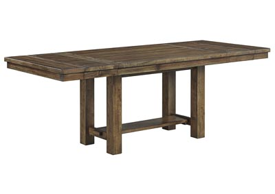 Moriville Brown Rectangular Dining Room Table w/Extension