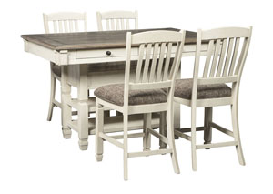 Bolanburg Two-tone 5 Piece Counter Height Dining Set