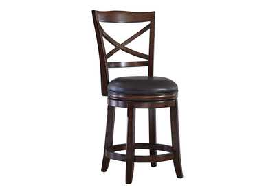 Image for Porter Counter Height Bar Stool (Set of 2)