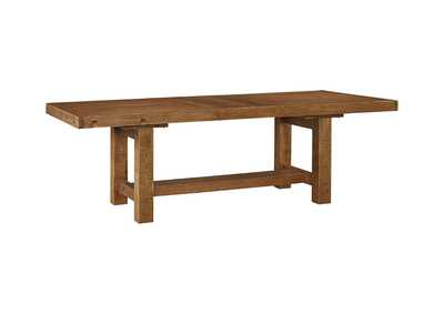 Image for Tamilo Gray/Brown Rectangular Dining Room Extension Table