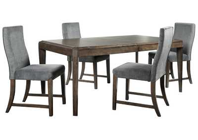 Raehurst 5-Piece Dining Table and Chairs