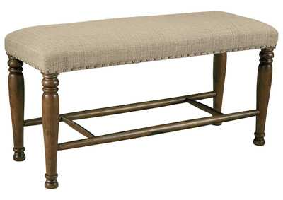 Image for Lettner Gray/Brown Dining Bench