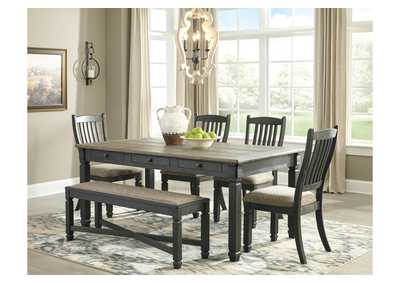Image for Tyler Creek Dining Table w/4 Chairs and Bench