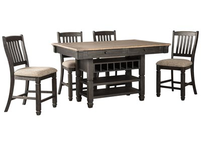 Image for Tyler Creek Counter Height Dining Table and 4 Counter Stools