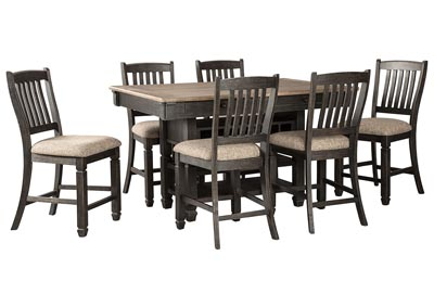 Image for Tyler Creek Counter Height Dining Table and 6 Counter Stools