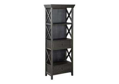 Image for Tyler Creek Black/Grayish Brown Display Cabinet