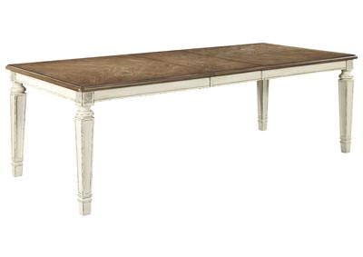 Realyn Rectangular Dining Room Table w/Extension,Signature Design By Ashley