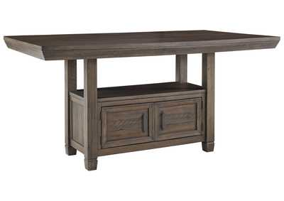 Image for Johurst Counter Height Dining Room Table