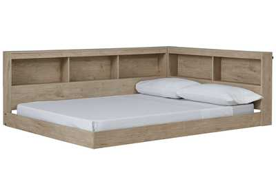 Image for Oliah Full Bookcase Storage Bed