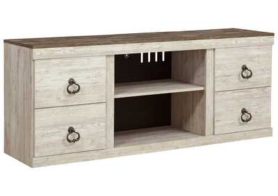 "Image for Willowton Whitewash 63"" TV Stand"