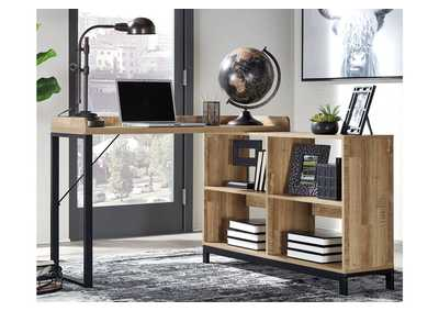"Gerdanet Brown 47"" Home Office Desk"