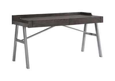 Image for Raventown Grayish Brown Home Office Desk