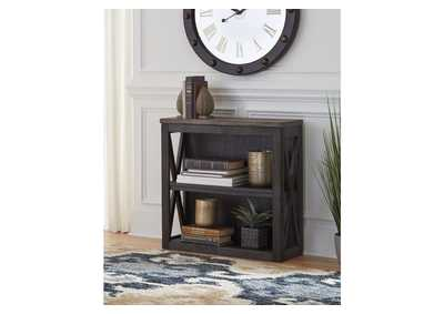 Tyler Creek Grayish Brown/Black Medium Bookcase,Signature Design By Ashley