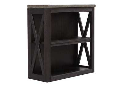 Tyler Creek Grayish Brown/Black Medium Bookcase
