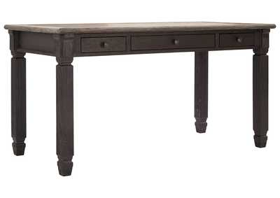Image for Tyler Creek Gray/Brown Home Office Desk