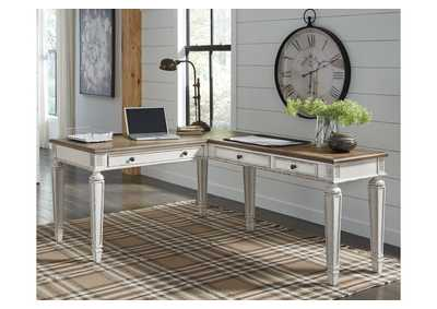 Image for Realyn Brown Home Office Desk w/Return