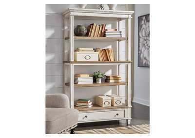 "Realyn Brown 75"" Bookcase"