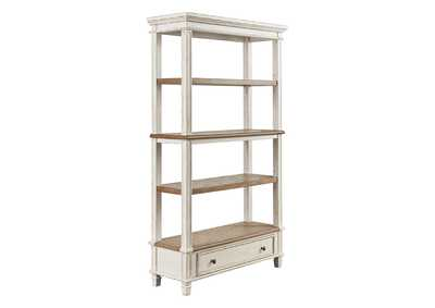"Image for Realyn Brown/White 75"" Bookcase"
